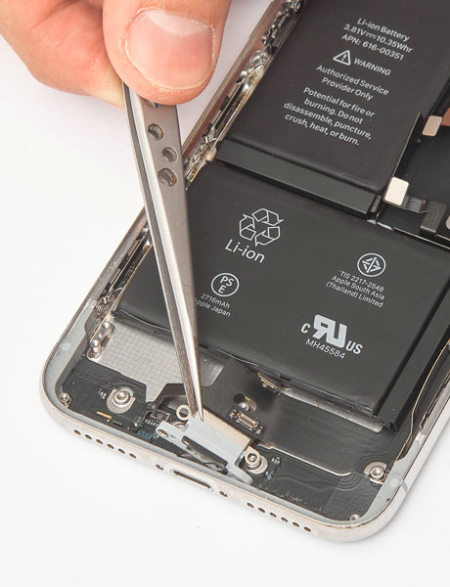 Замена разъёма зарядки iPhone