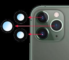 Замена стекла камеры iPhone 12 Pro